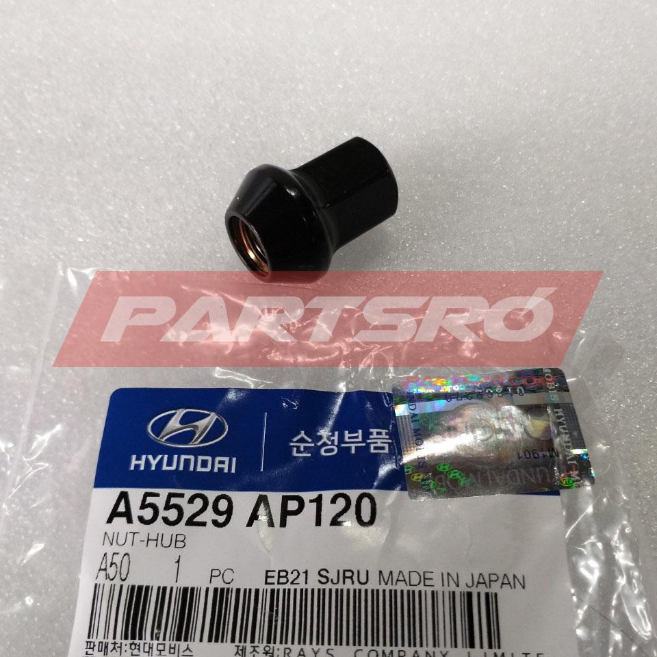 현대모비스 순정 튜익스 휠 허브 너트 (1개 낱개) (A5529AP120) 그랜저IG/벨로스터/I30/맥스크루즈/투싼